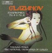 Symphonies Nos. 4 And 8 de Alexander Glazunov