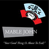 Your Good Thing de Mable John