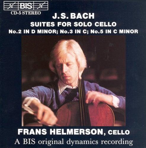Cello Suites Nos. 2, 3, And 5 by Johann Sebastian Bach