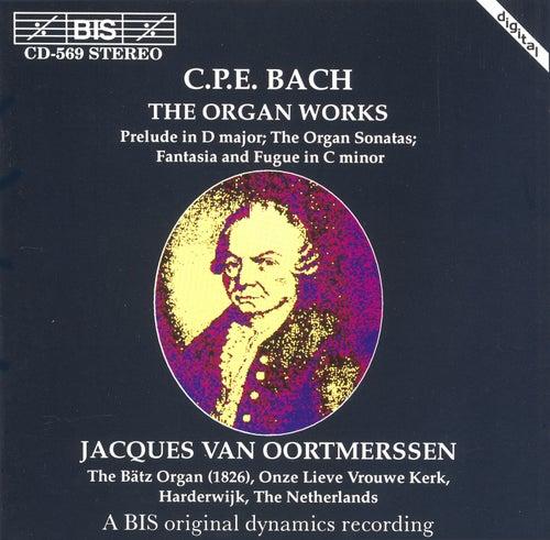 Organ Works by Carl Philipp Emanuel Bach