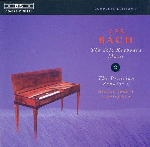 Solo Keyboard Music, Vol.  2 by Carl Philipp Emanuel Bach