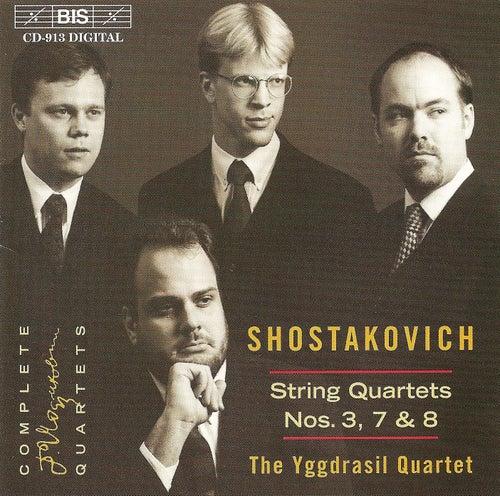 String Quartets Nos. 3, 7 and 8 by Dmitri Shostakovich