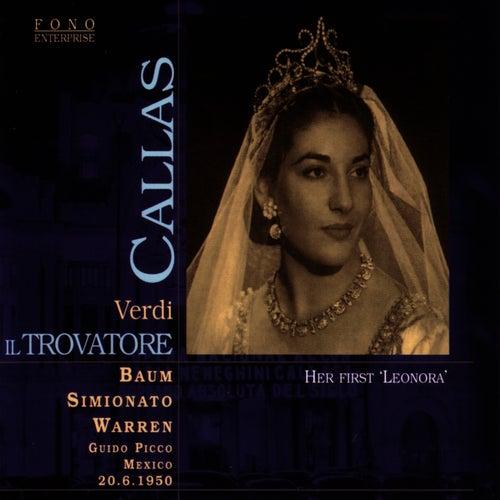 Il Trovatore, Mexico, 1950 by Maria Callas