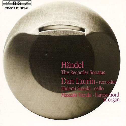 HANDEL: Recorder Sonatas (The) by George Frideric Handel
