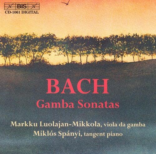 BACH, J.S.: Sonatas for Viola da gamba and Harpsichord by Johann Sebastian Bach