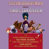 Shostakovich: Piano Concertos Nos. 1 & 2, Piano Quintet by Yefim Bronfman