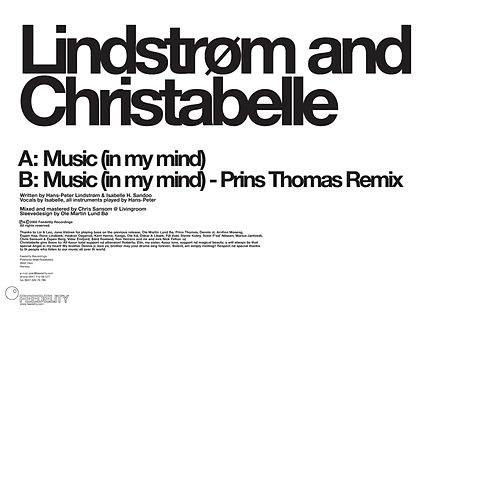 Music (In My Mind) by Lindstrom