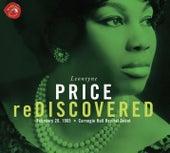 Leontyne Price Rediscovered Carnegie Hall Recital by Leontyne Price