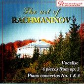 The Art of Rachmaninov Vol 7 by Sergei Rachmaninov