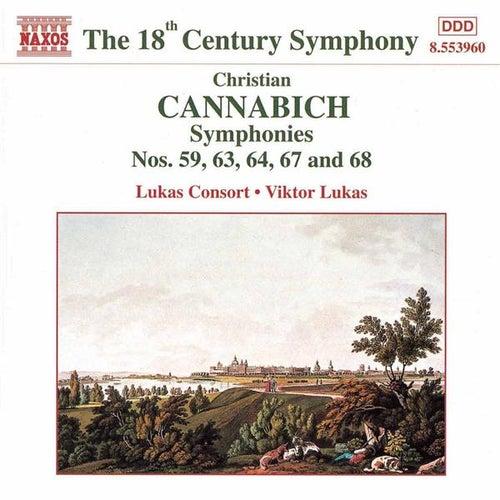 Symphonies Nos. 59, 63, 64, 67 & 68 by Christian Cannabich