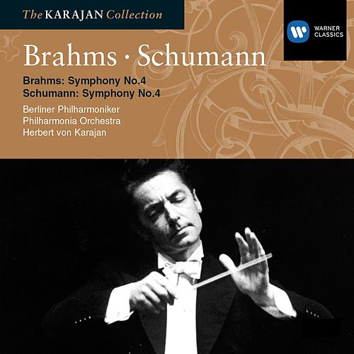 Brahms: Symphony No 4; Schumann: Symphony No 4 by Philharmonia Orchestra