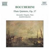 Flute Quintets, Op. 17 by Luigi Boccherini