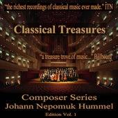 Classical Tresures Composer Series: Johann Nepomuk Hummel, Vol. 1 by Various Artists