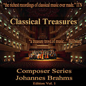 Classical Treasures Composer Series: Johannes Brahms, Vol. 1 by Various Artists