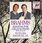 Brahms: Sonatas for Cello & Piano, Opp. 38., 99 and 108 by Yo-Yo Ma