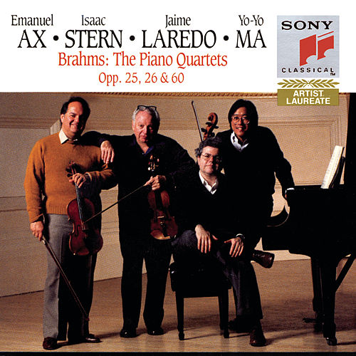 Brahms: Piano Quartets by Emanuel Ax