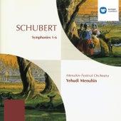 Schubert: Symphonies Nos. 1 - 6 by Yehudi Menuhin