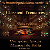 Classical Treasures Composer Series: Manuel de Falla, Vol. 1 von Various Artists