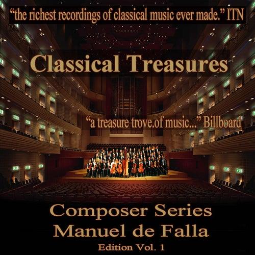 Classical Treasures Composer Series: Manuel de Falla, Vol. 1 by Various Artists