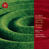 Bach: Brandenburg Concertos Nos. 2 & 5 / Wedding Cantata by James Levine