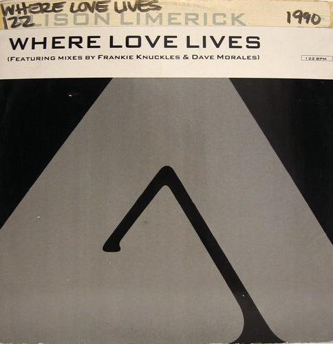 Where Love Lives - Remixes by Alison Limerick