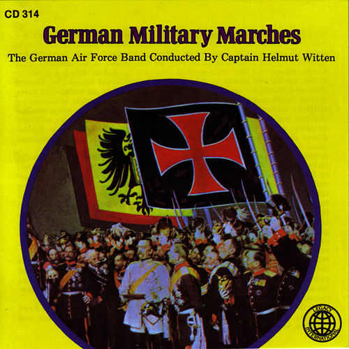 German Military Marches by German Airforce Band