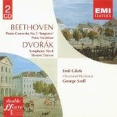 Beethoven Piano Concerto No. 5. Variations. Dvorák Symphony No. 8 by George Szell