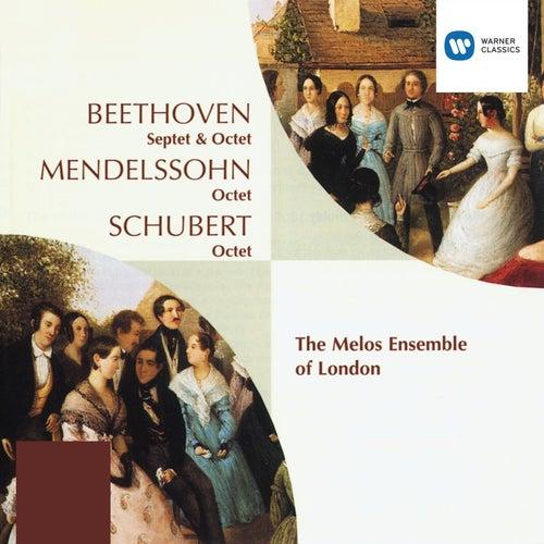 Beethoven: Septet;  Octet. Mendelssohn/Schubert: Octets by Melos Ensemble