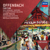Offenbach: Can Can; Gaité Parisienne; Overtures by Philharmonia Orchestra