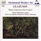 Piano Concertos Nos. 1 and 2 de Alexander Glazunov