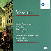 Violin Concerto 2 & 4/Divertimento 1 In d by Frank Peter Zimmermann