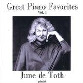 Great Piano Favorites, Volume 1 by June De Toth