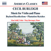 Music for Violin and Piano by Cecil Burleigh