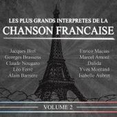 Les plus grands interprètes de la chanson française, Vol. 2 (20 succès) de Various Artists