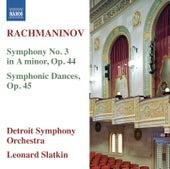 Rachmaninov: Symphony No. 3 - Symphonic Dances von Detroit Symphony Orchestra