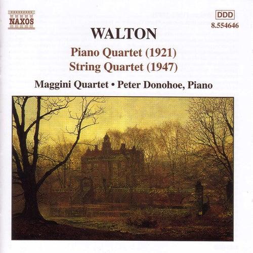 Piano Quartet / String Quartet by Sir William Walton