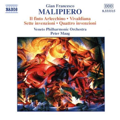 Il finto Arlecchino / Vivaldiana / Invenzioni by Gian Francesco Malipiero