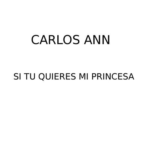 Si tú quieres mi princesa de Carlos Ann
