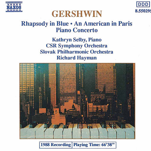Rhapsody In Blue / An American In Paris de George Gershwin
