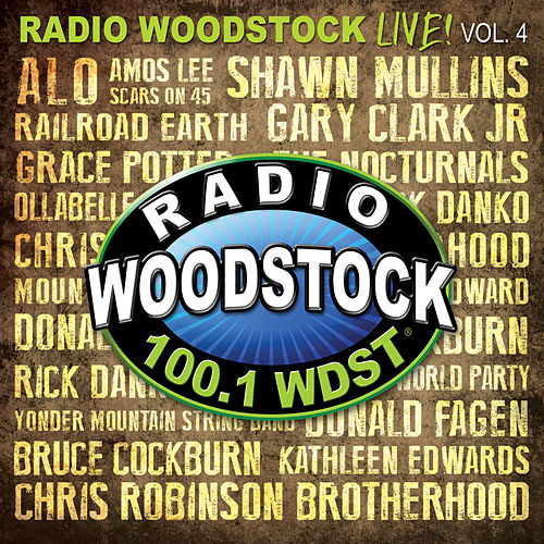 Radio Woodstock Live Vol! 4 de Various Artists