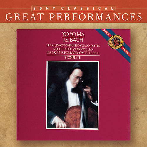 Bach: Unaccompanied Cello Suites [Great Performances] de Yo-Yo Ma