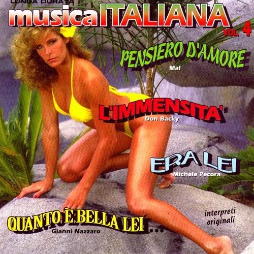 Musica Italiana Vol 4 von Various Artists