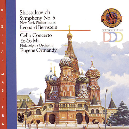 Shostakovich: Symphony No. 5 & Cello Concerto No. 1 by Yo-Yo Ma