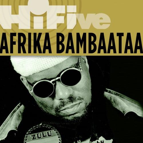 Rhino Hi-Five: Afrika Bambaataa de Afrika Bambaataa