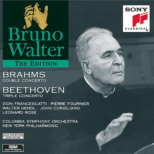 Brahms: Double Concerto in A Minor, Op. 102 - Beethoven: Triple Concerto in C Major, Op. 56 by Bruno Walter