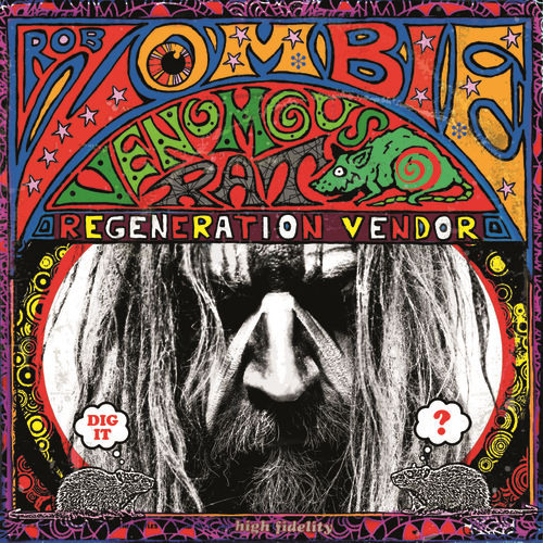 Venomous Rat Regeneration Vendor de Rob Zombie