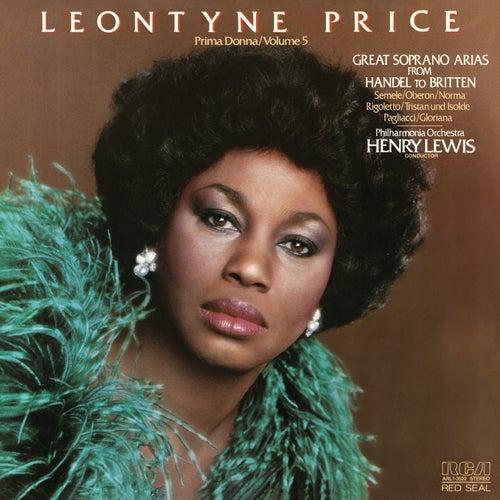 Leontyne Price - Prima Donna Vol. 5: Great Soprano Arias from Handel to Britten by Leontyne Price