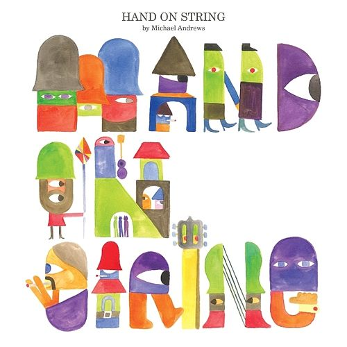 Hand On String by Michael Andrews