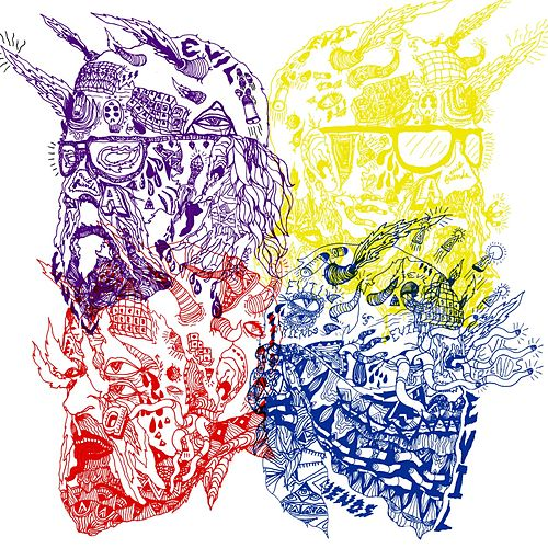 Purple Yellow Red and Blue de Portugal. The Man