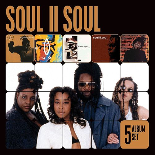 5 Album Set (Club Classics Vol 1/Volume II/Volume III/Volume V/The Club Mix Hits) by Soul II Soul